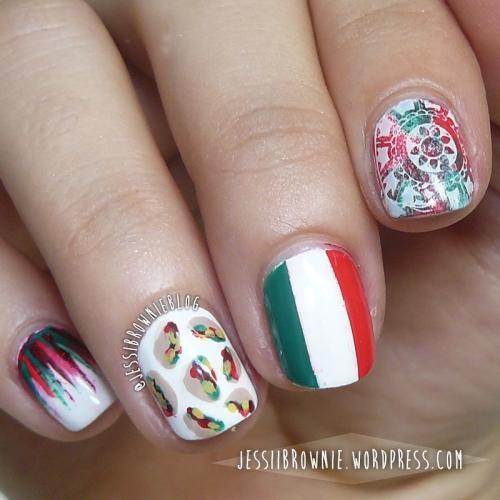 Viva Mexico! Nail Art 2015